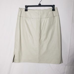 Max Studio Leather Pencil Skirt size 6